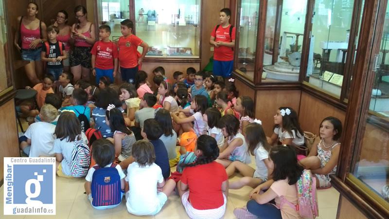 Jornada en el museo de Mengíbar con las TICs