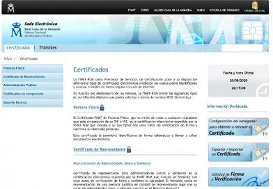 Obtener el certificado digital desde cualquier navegador