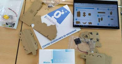 Taller de energías renovables con las TIC en Mengíbar