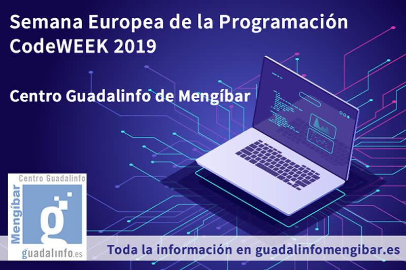 Semana Europea de la Programacion en Mengíbar CodeWeek 2019